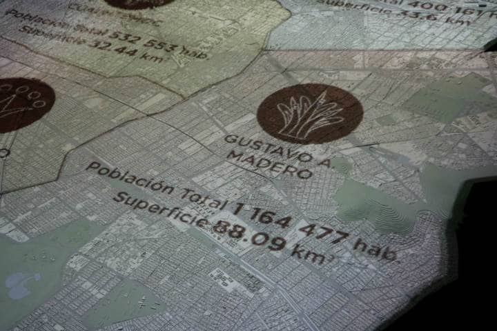 Maqueta de la Ciudad de Méixco Foto Fidel Enriquez 8