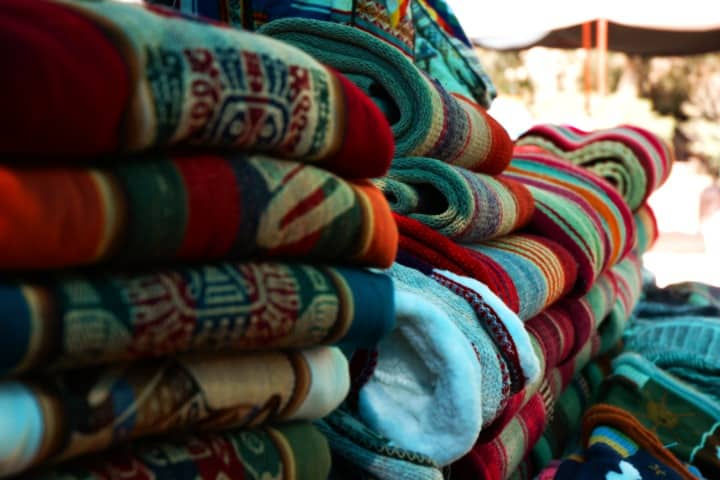 Tradición de textiles en Bolivia