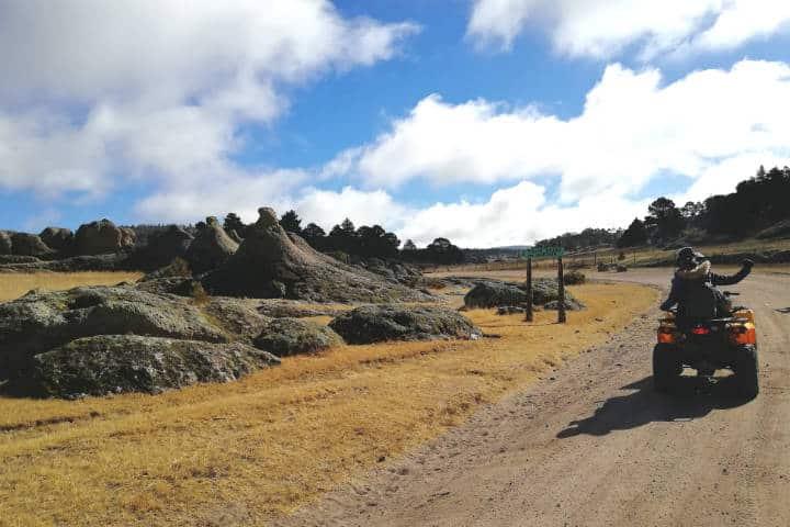 Valles de Creel Chihuahua Cuatrimotos El Souvenir 14
