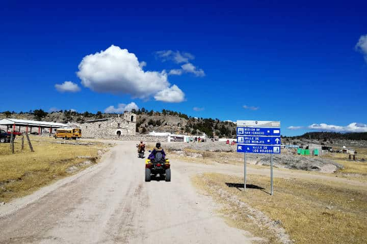 Valles de Creel Chihuahua Cuatrimotos El Souvenir 52