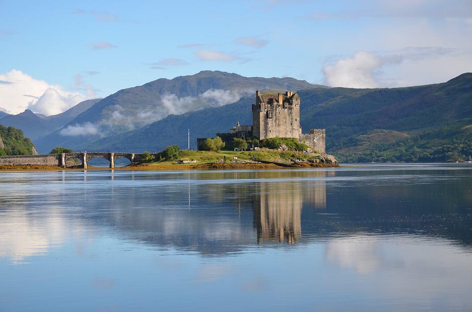 El Castillo de Eilean Donan Escocia Foto: Archivo