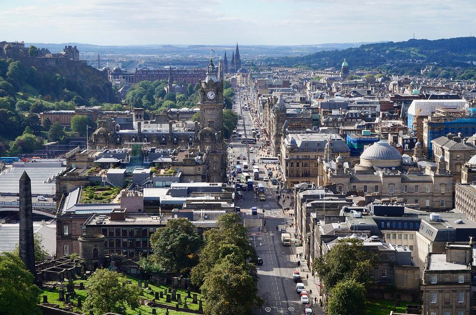Edimburgo. Foto: archivo
