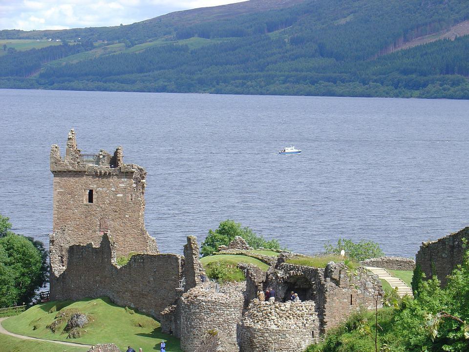 Lugares para visitar en Escocia Lago Ness. Foto: archivo