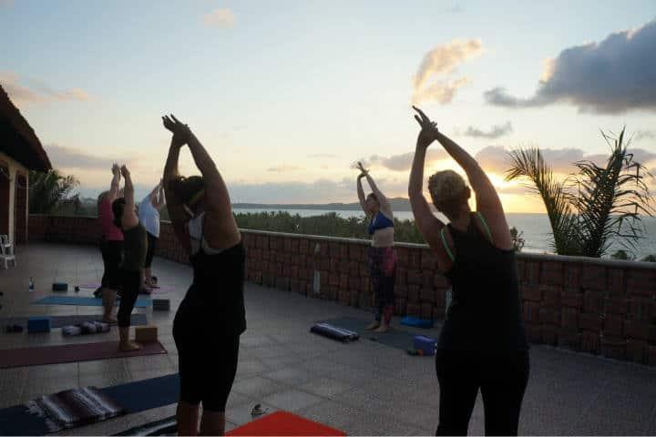 yoga playas foto Nicole Bratt