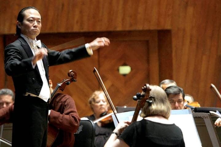 Beethoven Zocalo Filarmónica Scott Yoo Foto Secretaria de cultura CDMX