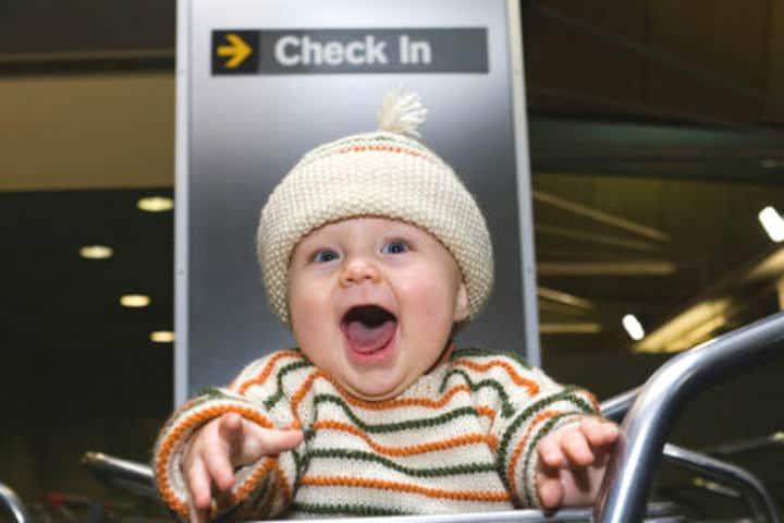 Equipaje de mano Foto Baby Center Australia