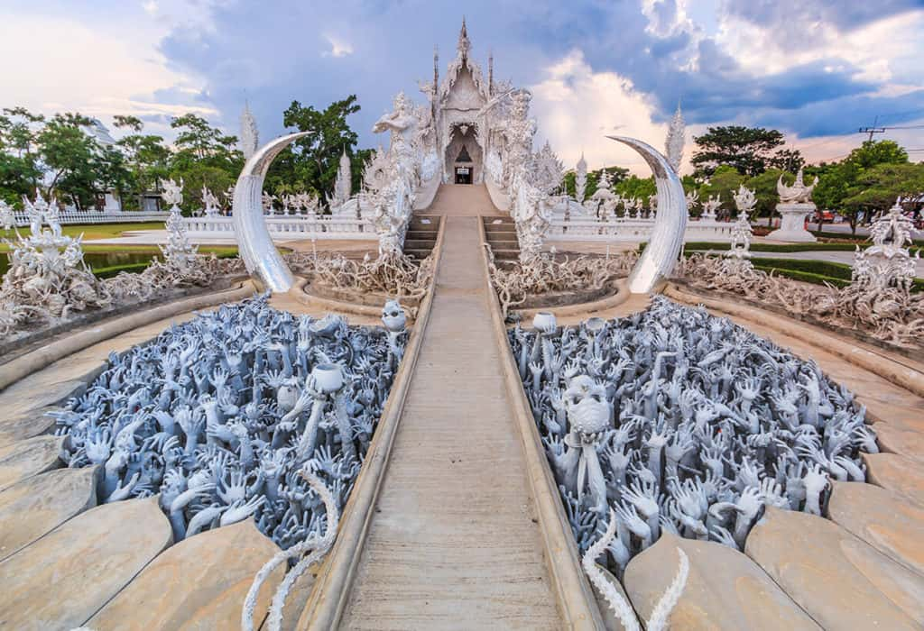 Templo Chiang Rai en Tailandia. Foto: Koktejl