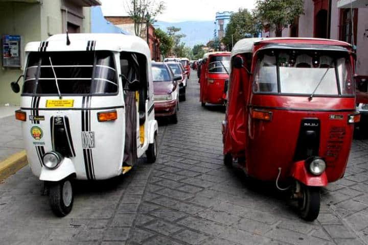 Transportes curiosos Mototaxi Foto Oaxaca Noticias