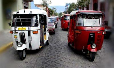 portada Transportes curiosos Mototaxi Foto Oaxaca Noticias