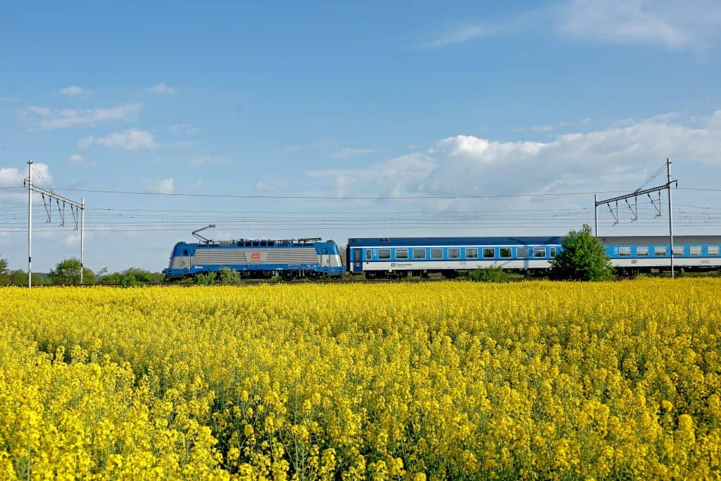 Tren de Czech Railways, Foto Rail Europe en español ok