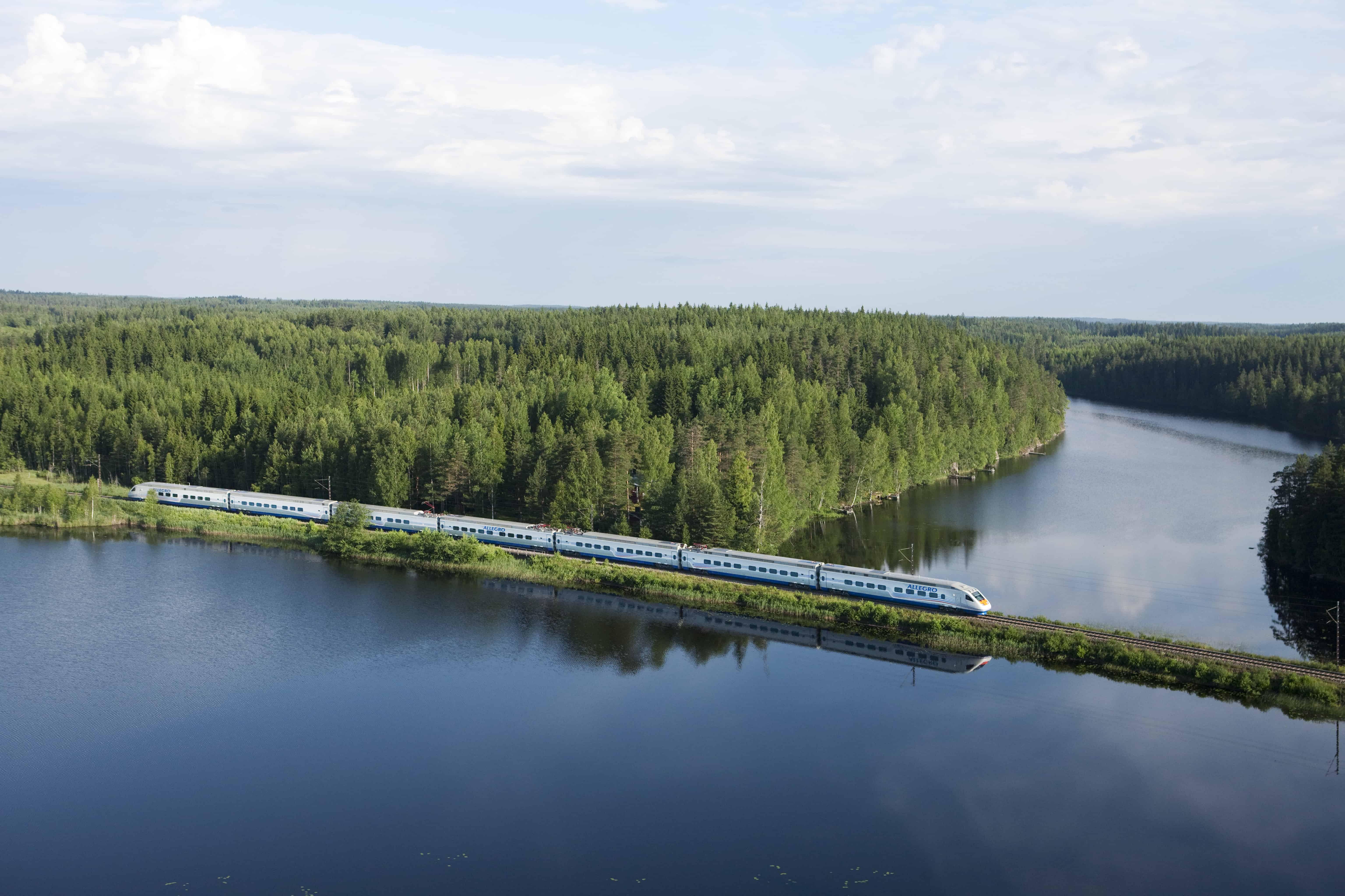 15 © VR Group Tren Allegro Finlandia a Rusia