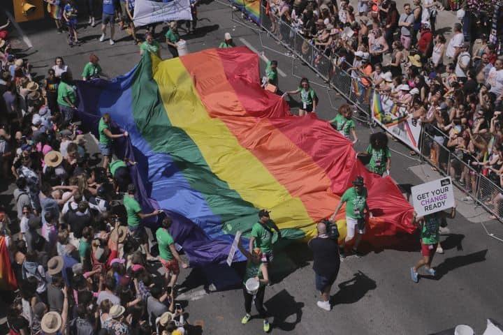 Bandera LGBT Toronto. Foto Pixabay
