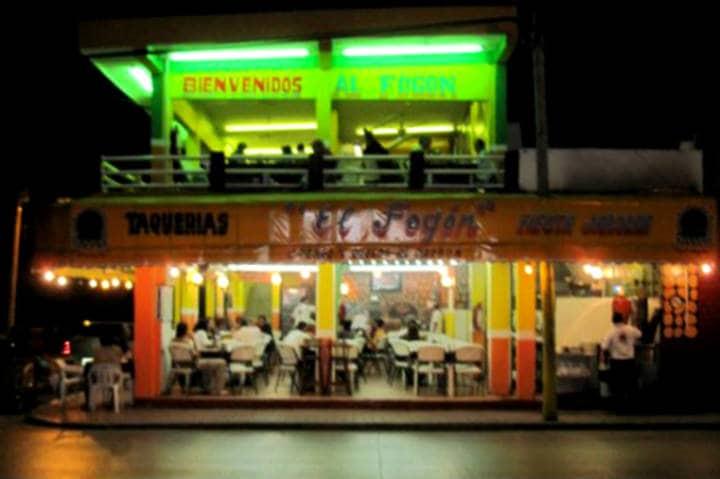 Comer rico y barato en Playa del Carmen El Fogón 1