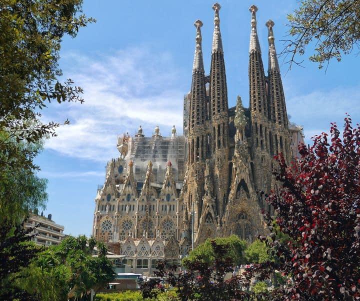 La Sagrada Familia. Foto Pixabay
