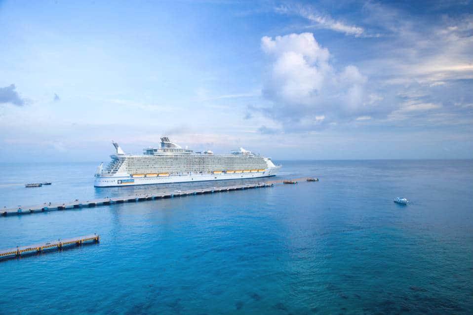 Objetos prohibidos en un crucero Foto Royal Caribbean Int