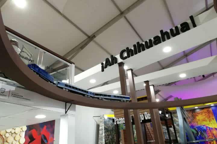 Tianguis Turístico 2018 Stand Chihuahua Foto El Souvenir