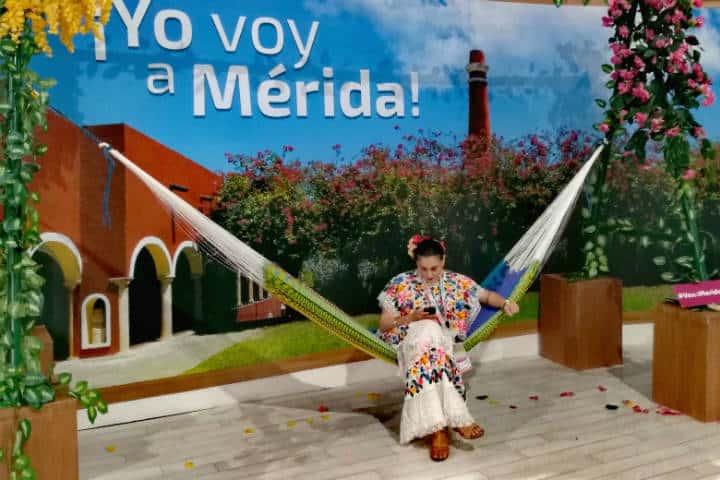 Tianguis Turístico Stand Yucatán Foto Luis Juárez