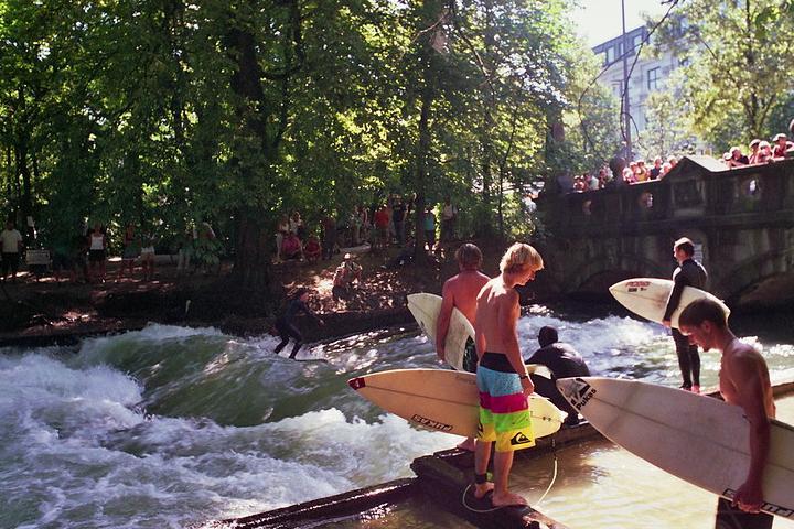 Surfear en Múnich