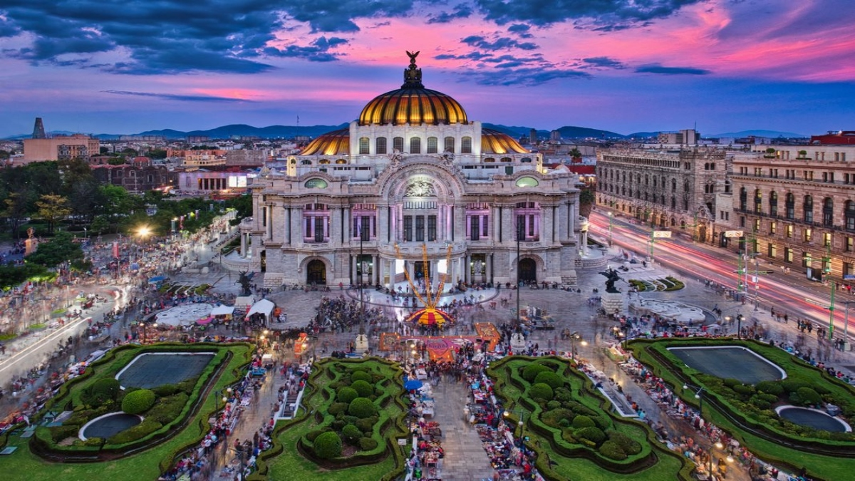Bellas artes CDMX