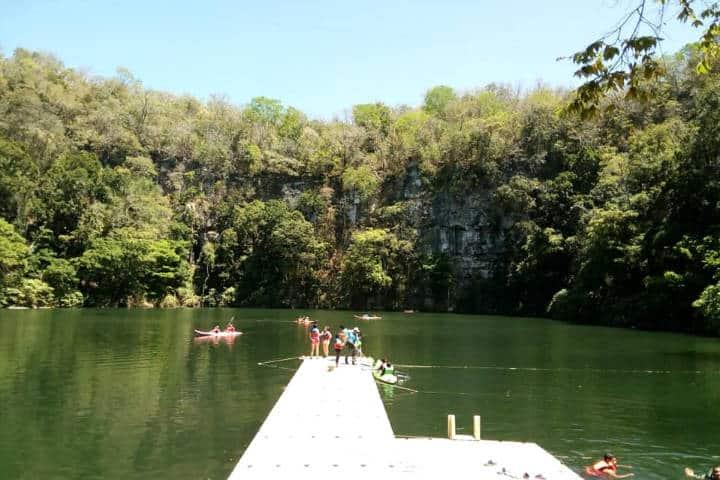 Cenote Azul Miguel Colorado Campeche Foto Maria Fernanda Montijo copia