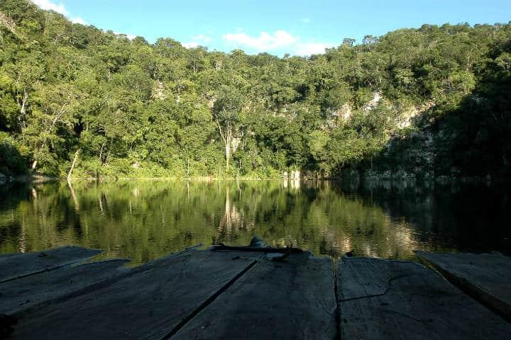 Cenote Azul Miguel Colorado Foto CMF