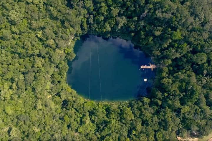 Cenote Azul Miguel Colorado Foto Descubro 3