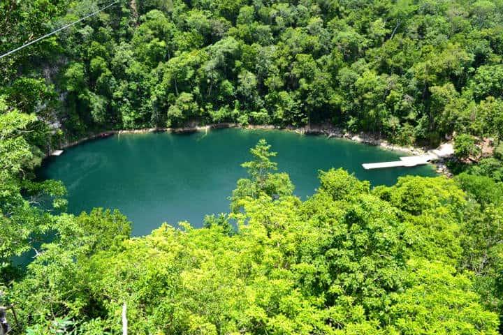 Cenote Azul Miguel Colorado Foto Paraisos de México copia