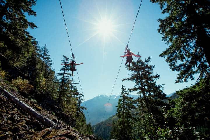 Cosas qué hacer en Whistler foto SuperFlyziplinesCosas qué hacer en Whistler foto SuperFlyziplines