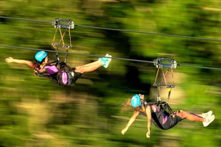Cosas qué hacer en Whistler foto Superflyziplines 3
