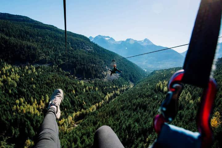 Cosas qué hacer en Whistler foto superflyziplines 2