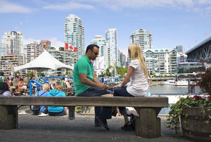 Luna de Miel en Vancouver Foto Turismo Vancouver