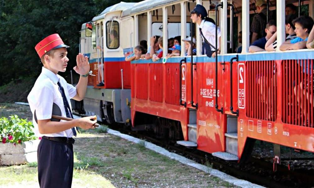 tren de niños
