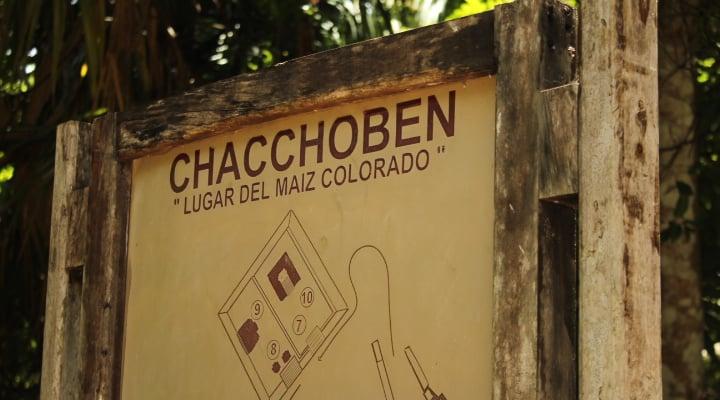 Chacchoben-mapa