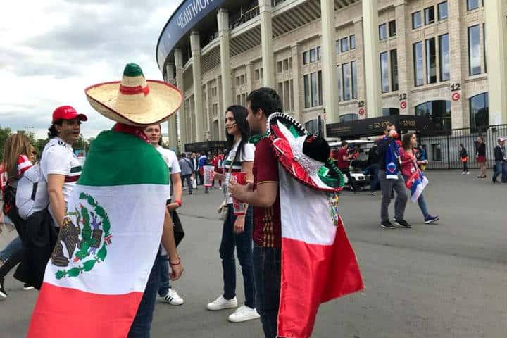 Aficion mexico mundial Foto AS Mexico