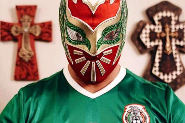 Aficion mexico mundial Foto Miguel Ángel Hdz