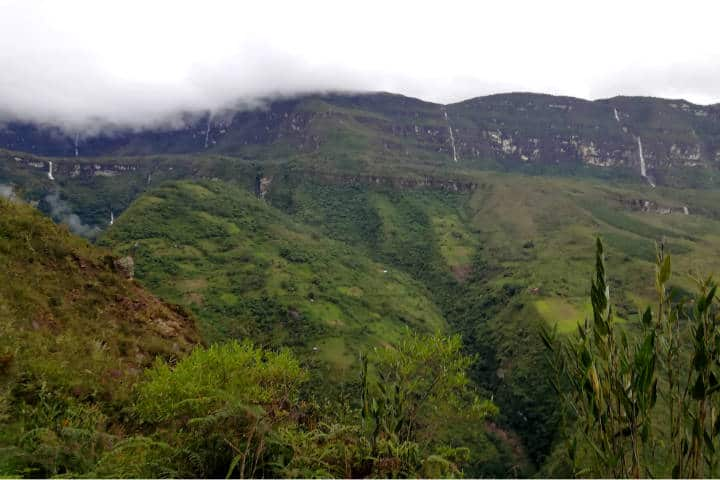 Cascada Gocta Perú Foto El Souvenir