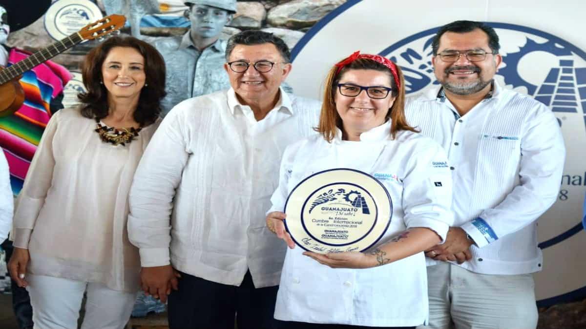 Cumbre internacional de gastronomía Guanajuato. Foto Sectur Guanajuato