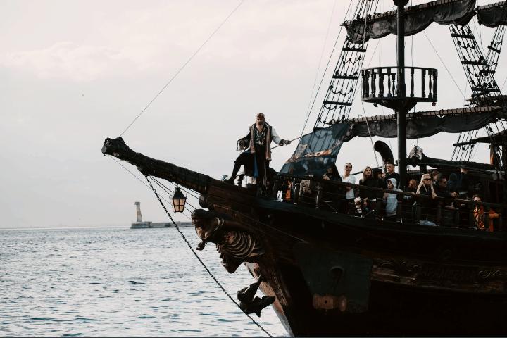 Los verdaderos Piratas del Caribe.