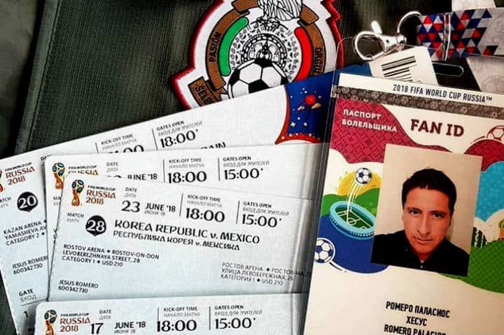 Mexicanos mundial Fan ID y boletos Foto Jesus Romero