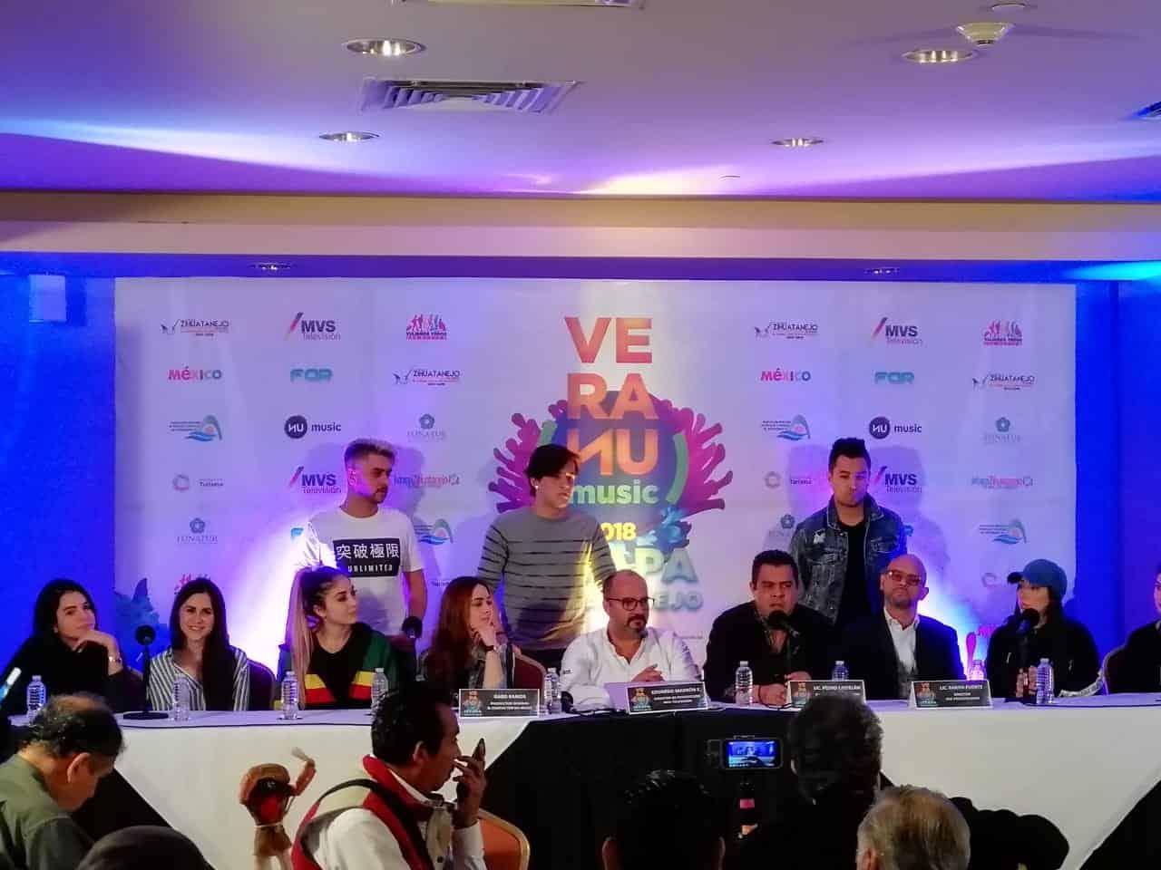 VeraNU Music Ixtapa 2018 anunciamiento del evento
