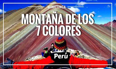 Winicunca montaña 7 colores