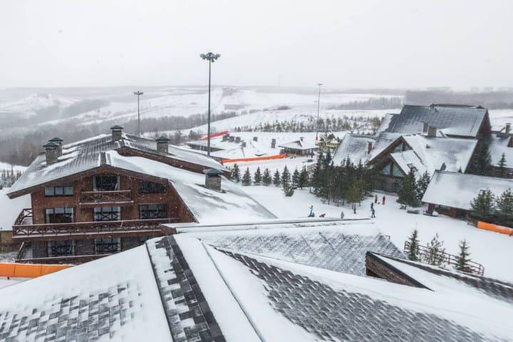 Alojamientos de la Copa del mundo en Rusia.  Ski Resort Kazán.