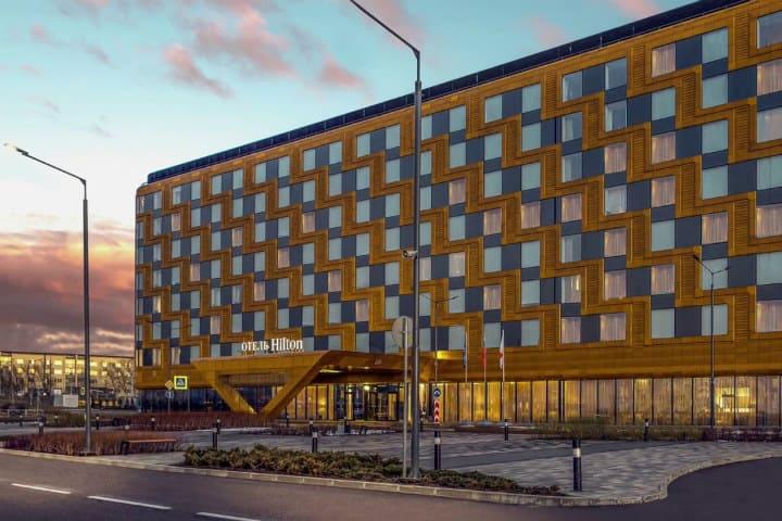 Rusia 2018. Hilton ExpoForum