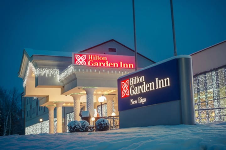 Alojamientos de la Copa del mundo en Rusia. El Hilton Garden Inn New Riga de Moscú