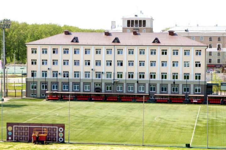 Alojamientos de la Copa del mundo en Rusia. Complejo deportivo de Rubin Kazán.