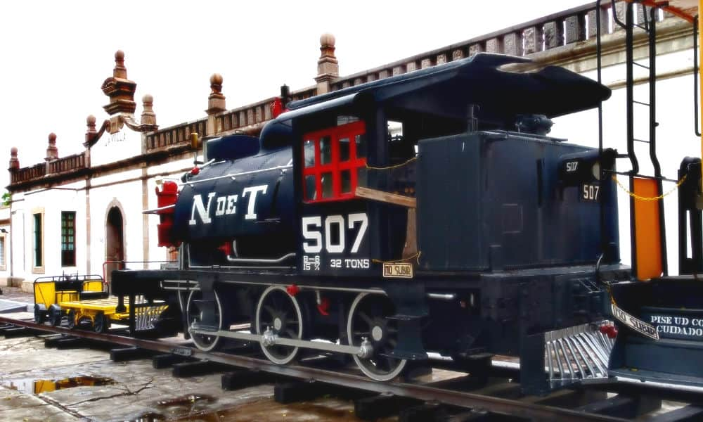 Viejas estaciones de tren en la CDMX