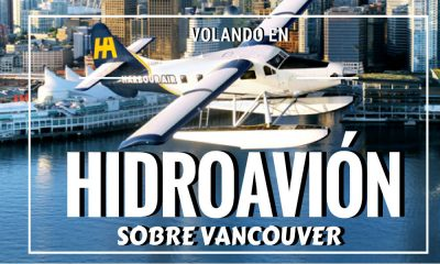 Volar en Hidroavion sobre Vancouver