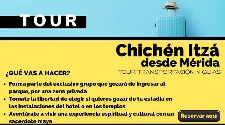 Tour desde Mérida, abriendo las puertas a Chichén Itzá. Arte El Souvenir