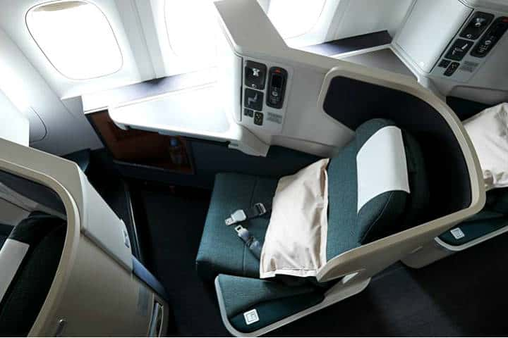 Business Class Cathay Pacific Foto CP