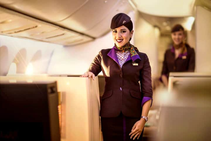 Business Class Etihad Airways Foto EA 3
